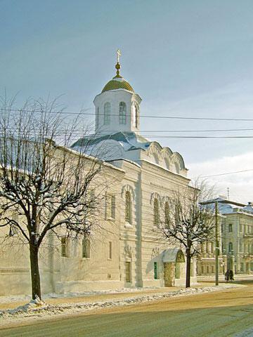 Кострома. Богоявленско-Анастасиин монастырь .Зимой