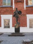 Кострома. Богоявленско-Анастасиин монастырь .Памятник великомученику Феодору Стратилату