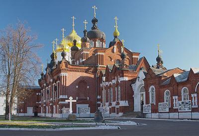 Кострома. Богоявленско-Анастасиин монастырь .Новый Богоявленский Собор