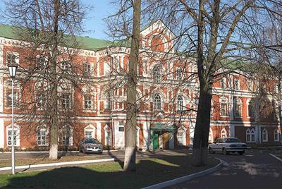 Кострома. Богоявленско-Анастасиин монастырь .Трапезный корпус