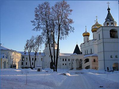 Кострома. Ипатьевский монастырь .Зимний день