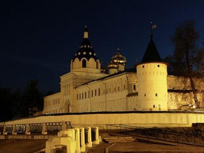 Кострома. Ипатьевский монастырь .Вид ночью