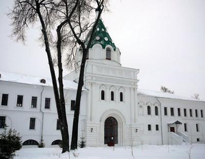 Кострома. Ипатьевский монастырь .Зимой