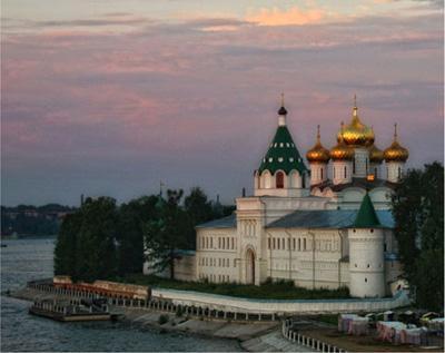 Достопримечательности  Костромы — Ипатьевский монастырь