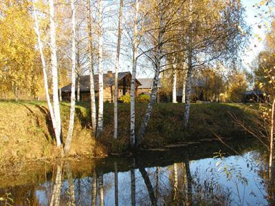 Кострома. Музей деревянного зодчества .Осень в музее