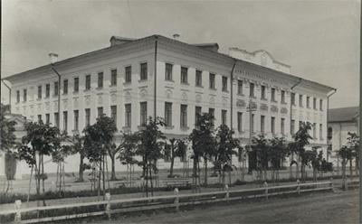 Кострома. Старинная Кострома .Здание Дворянского собрания