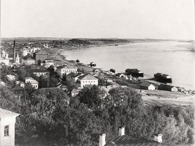 Кострома. Старинная Кострома .Панорама