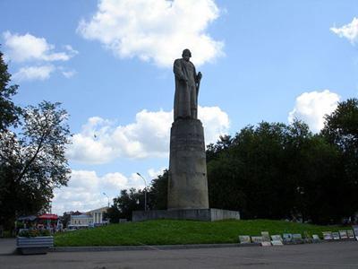 Кострома. Сусанинская площадь .Новый памятник Ивану Сусанину