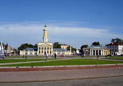 Кострома. Сусанинская площадь .Ансамбль Сусанинской площади
