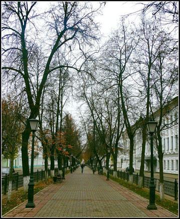 Кострома. Улицы города .Проспект Мира