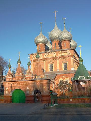 Кострома. Церковь Воскресения на Дебре .Церковь