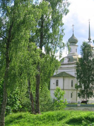 Кострома. Щелыково .Церковь в усадьбе