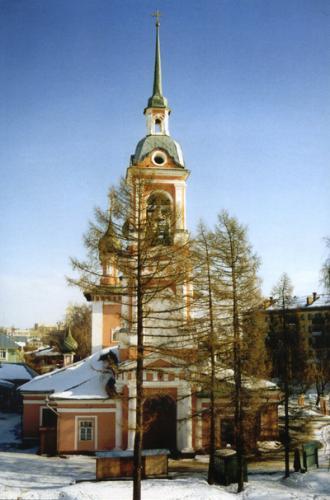 Кострома. Церковь Иоанна Златоуста .Церковь Иоанна Златоуста зимой