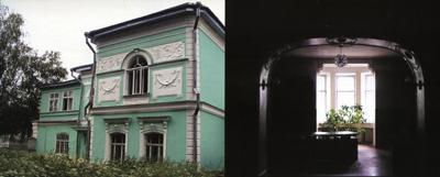 Кострома. Усадьба Колодезниковой .Интерьер главного дома