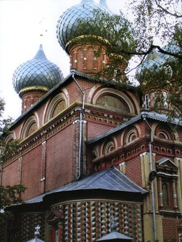 Кострома. Церковь Воскресения на Дебре .Церковь Воскресения на Дебре