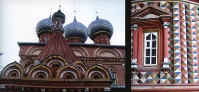 Кострома. Церковь Воскресения на Дебре .Роспись Трехсвятительского придела