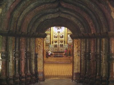 Кострома. Церковь Воскресения на Дебре .Интерьер церкви