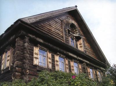 Кострома. Музей деревянного зодчества .Дом Липатова из д.Кобылино