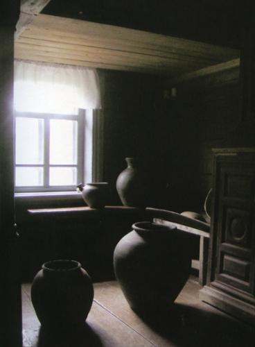 Кострома. Музей деревянного зодчества .Крестьянская изба