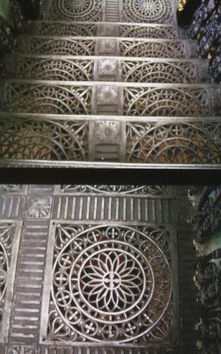 Кострома. Дворянское собрание .Фрагменты парадной лестницы