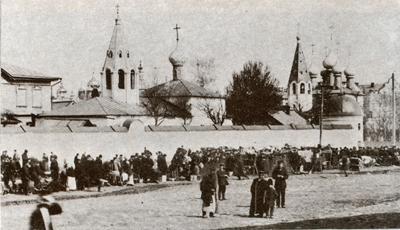 Кострома. Старинная Кострома .Анастасьинский монастырь