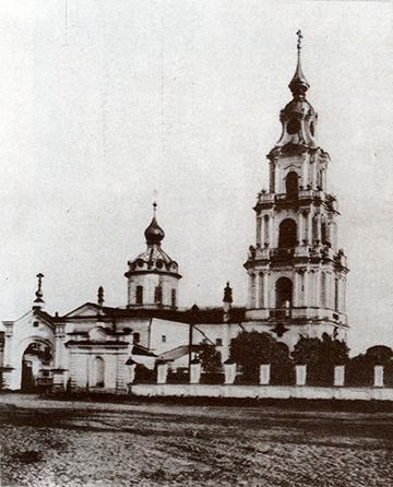 Кострома. Старинная Кострома .Колокольня Богоявленского собора