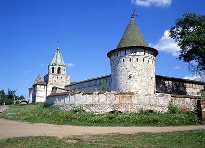 Кострома. Ипатьевский монастырь .Крепостные стены