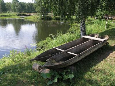 Кострома. Музей деревянного зодчества .Природа музея