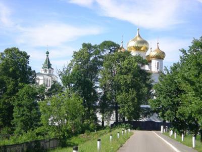 Кострома. Ипатьевский монастырь .Природа Ипатьевского монастыря