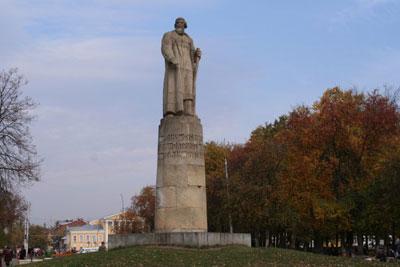 Кострома. Сусанинская площадь .Памятник Ивану Сусанину