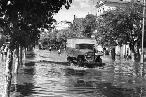 Кострома. Кострома 50-х годов .Ул.Симановского, 1959 г