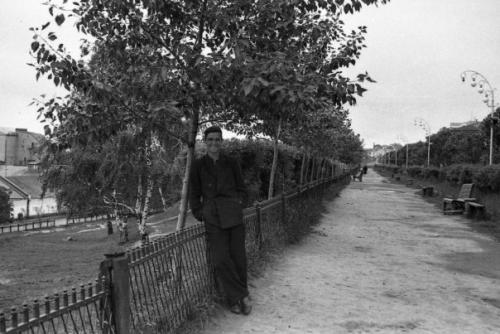 Кострома. Кострома 50-х годов .Муравьевка, конец 50-х.