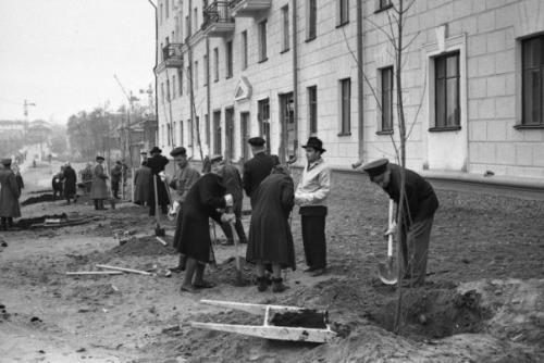 Кострома. Кострома 50-х годов .ул. Советская, где-то около 1960 г.