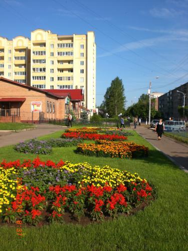 Кострома. Волгореченск .Вид города