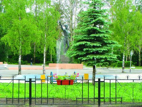 Кострома. Волгореченск .Городская площадь