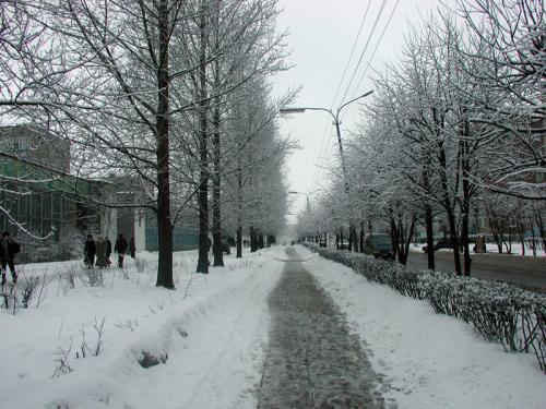 Кострома. Волгореченск .Зима