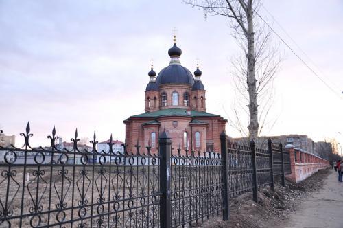 Кострома. Свято-Тихоновский храм, Волгореченск