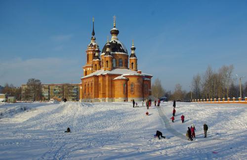 Кострома. Свято-Тихоновский храм, Волгореченск .Почта