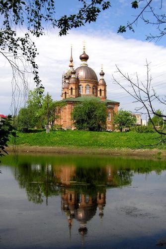 Кострома. Свято-Тихоновский храм, Волгореченск .Свято-Тихоновский храм